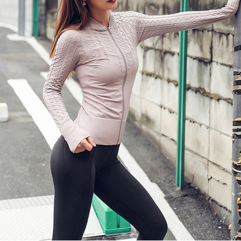 Women Sports Tops Yoga Shirts Long Sleeve Fitness Tops Gym Running Sports T-Shirts Training Yoga Gym Tank Top Fitness Clothes - unitedstatesgoods