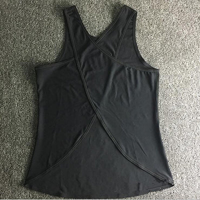 Yoga Tank Top  Quick Dry Loose design  Fitness Vest  Women's Workout Yoga Top T-Shirts  Exercise  Sports Vest Gym Clothes - unitedstatesgoods