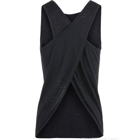 Yoga Tank Top  Quick Dry Loose design  Fitness Vest  Women's Workout Yoga Top T-Shirts  Exercise  Sports Vest Gym Clothes