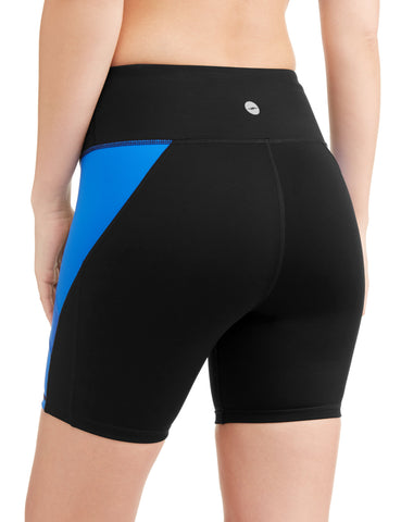 Avia Women's Core Flex Tech Compression Bike Short with Media Pocket - unitedstatesgoods