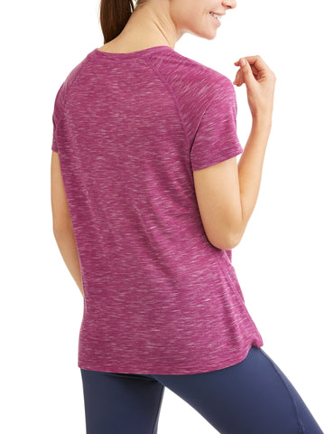 Women's Core Active Short Sleeve Crewneck Performance T-Shirt - unitedstatesgoods