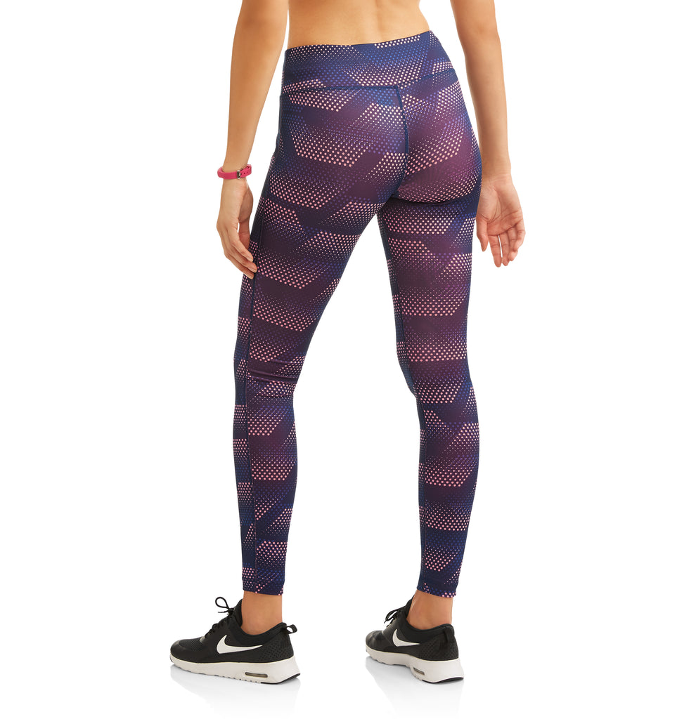 Danskin Now Women's Core Active Allover Print Capri Leggings - unitedstatesgoods