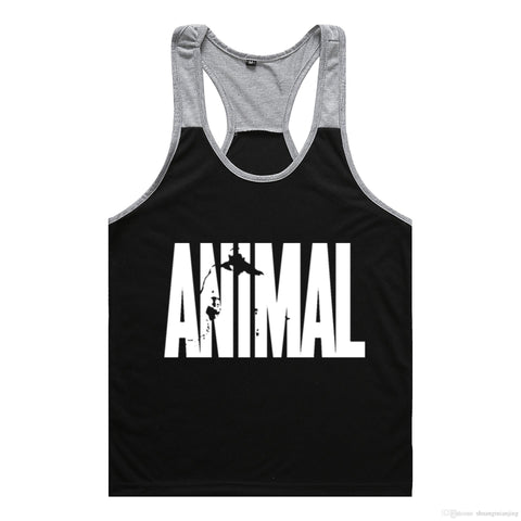 Brand gym vest clothes fitness mens muscle bodybuilding undershirt tank tops men gym sleeveless singlet clothing - unitedstatesgoods