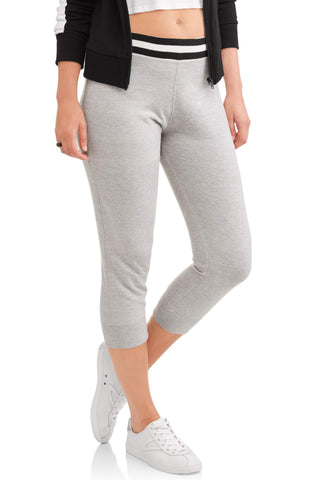 Women's Essential French Terry Stripe Waistband Lounge Jogger Pants - unitedstatesgoods