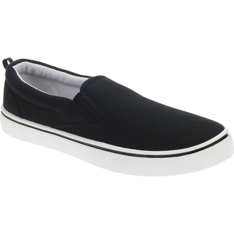 Faded Glory Men's Canvas Slip On Shoe - unitedstatesgoods