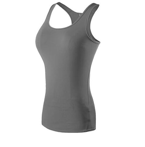 Yoga Top Fitness Gym Tank sleeveless t shirts - unitedstatesgoods