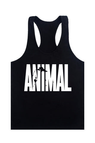 Animal  Stringers Mens Tank Tops - unitedstatesgoods