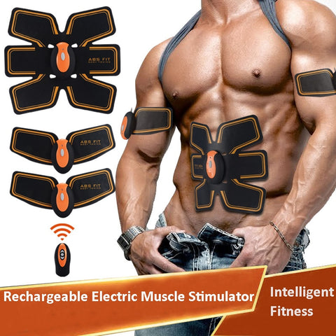 Rechargeable Electric Muscle Stimulator - unitedstatesgoods