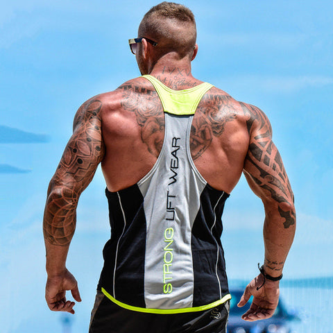 Brand mens sleeveless t shirts Summer men Tank Tops - unitedstatesgoods