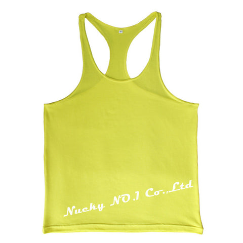 Summer Bodybuilding Tank Top Men's T-shirt Brand - unitedstatesgoods