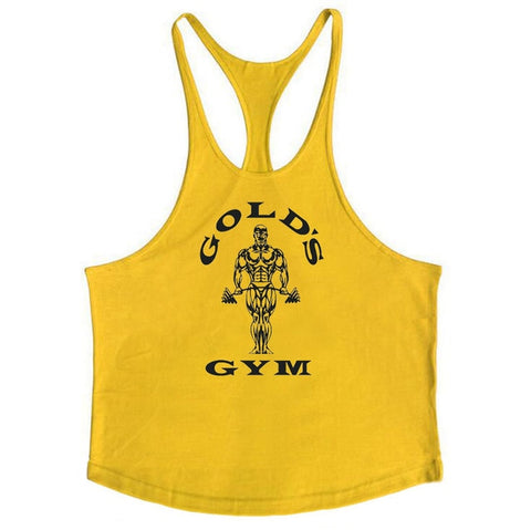 Muscleguys Cotton Gyms Tank Tops Men Sleeveless Tanktops - unitedstatesgoods