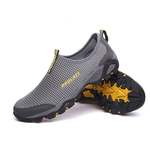 Aqua Shoes Mesh Beach Men Sneakers Light Weight Summer Shoes Breathable Sport Gym Shoes Outdoor Holidays Travel Shoes - unitedstatesgoods