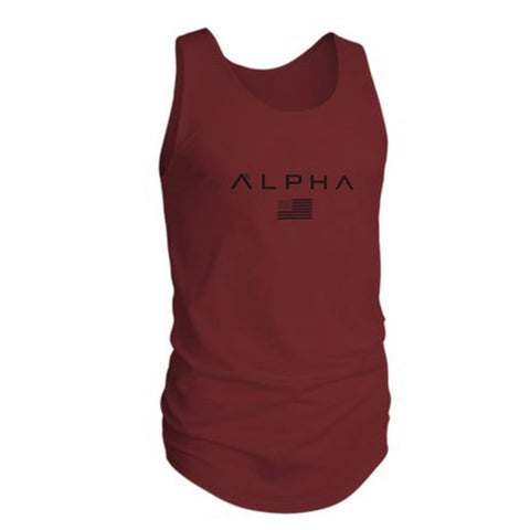 New ALPHA Brand vest bodybuilding clothing - unitedstatesgoods