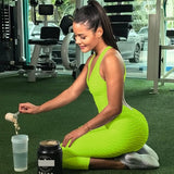 Sports Jumpsuits Backless Sportswear Fitness Gym Clothes - unitedstatesgoods