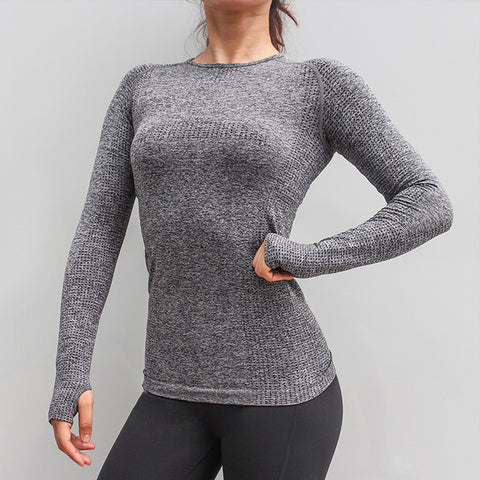 Seamless Breathable Yoga Top - unitedstatesgoods