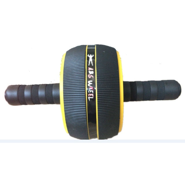 Large Silent TPR Abdominal Wheel Roller Trainer Fitness Equipment Gym Home Exercise Body Building Ab roller - unitedstatesgoods