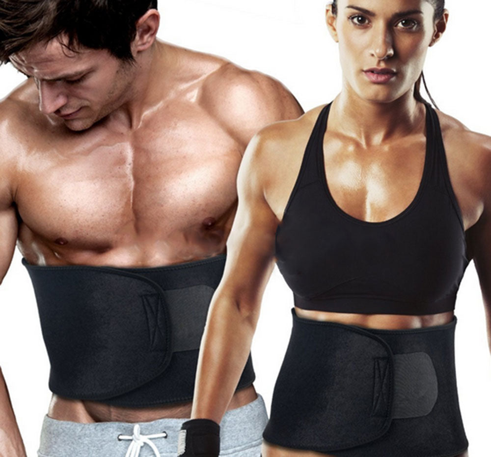 Adjustable Waist Trimmer Sweat Slimming Belt - unitedstatesgoods