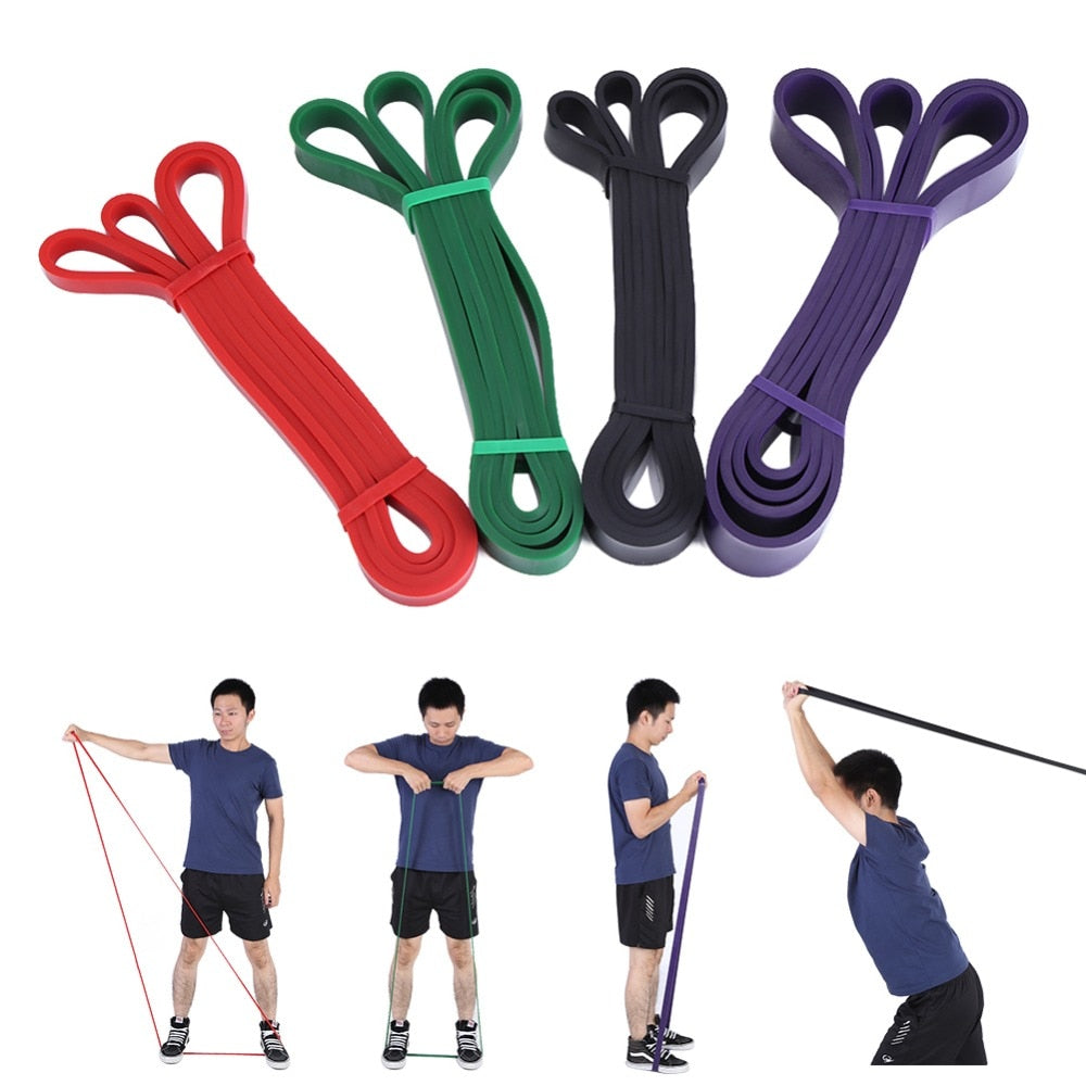Nature Pure Latex resistance bands fitness power training - unitedstatesgoods