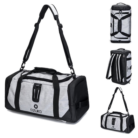 21in Sport Bag For Fitness Man Training Gym Bag Shoe Pouch Backpack Shoulder Outdoor Women Yoga Bags Travel Storage Handbag Tote - unitedstatesgoods