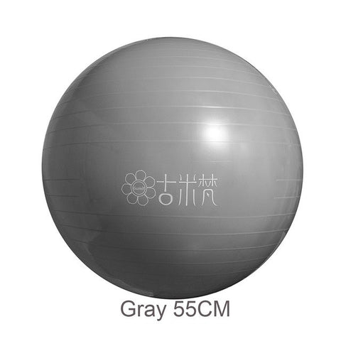 Sports Yoga Balls Bola Pilates Fitness Gym Balance Fitball Exercise Pilates Workout Massage Ball 55cm 65cm - unitedstatesgoods