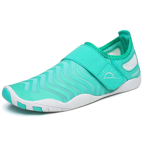 Aqua Shoes Women Barefoot Gym Shoes Soft Sole Swimming Beach Surfing Slippers Sport Summer Woman Shoe Light Athletic Trainer 6.5 - unitedstatesgoods