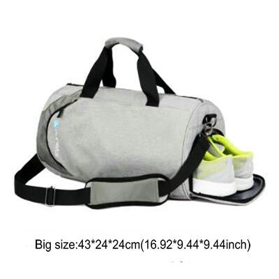 Waterproof sport bags men Large Gym bag with shoe compartment 2019 sac de Women yoga fitness bag Outdoor travel hand luggage bag - unitedstatesgoods