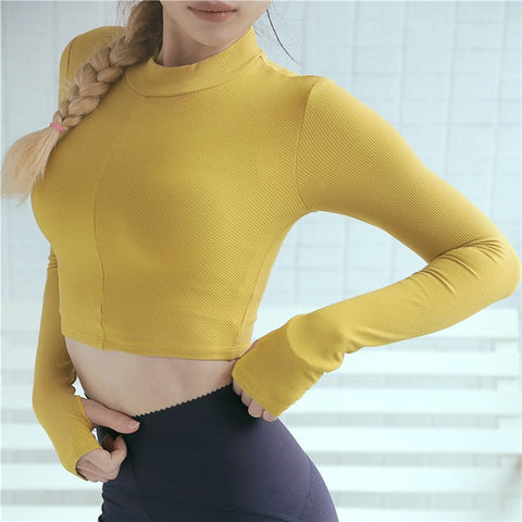 New Seamless Fitness Crop Tops - unitedstatesgoods