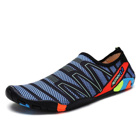 2019 Summer Water Shoes for Men Women Beach Sneakers Sports Shoes Outdoor Swimming On-surf Gym Yoga Fitness Mesh Aqua Shoes Man - unitedstatesgoods