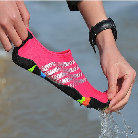 2019 Newest Summer Gym Women's Water Shoes breathable Aqua men Beach Breathable Swimming Shoes couple Sneakers zapatos de hombre - unitedstatesgoods
