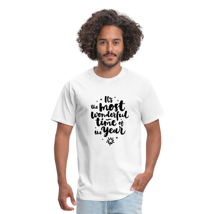 Wonderful time of the Year Men's T-Shirt - white