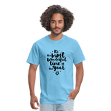 Wonderful time of the Year Men's T-Shirt - aquatic blue