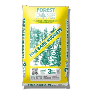 Forest Pine Mulch 3-cu ft