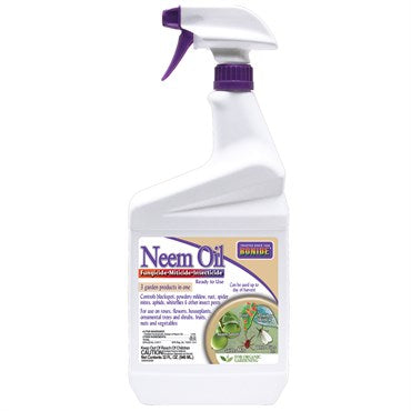 Bonide® Neem Oil Insecticide 32oz Ready to Use with Trigger Sprayer