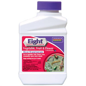 Bonide® Eight® Vegetable, Fruit & Flower Insect Control 16oz Concentrate