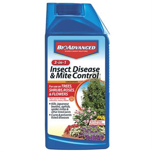 BioAdvanced® 3-in-1 Insect, Disease & Mite Control