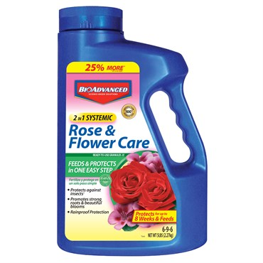 BioAdvanced® 2-in-1 Systemic Rose & Flower Care