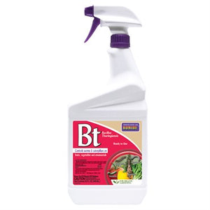 Bonide® Thuricide (BT) Liquid Insect Control 32oz Ready to Use Trigger Sprayer