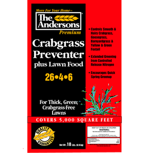 The Andersons Crabgrass Preventer