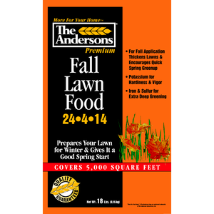 The Andersons Fall Lawn Food