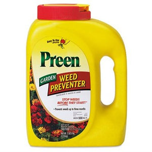 Preen® Garden Weed Preventer 5.625lb Shaker Bottle - Covers up to 900sq ft