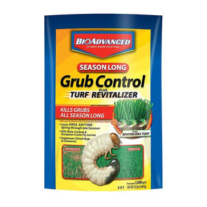 BioAdvanced® 12 SEASON LONG GRUB CONTROL PLUS TURF REVITALIZER