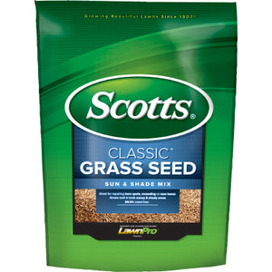 Scotts Classic Sun & Shade Grass Seed (3 lb. / 2,400 sq. ft.)