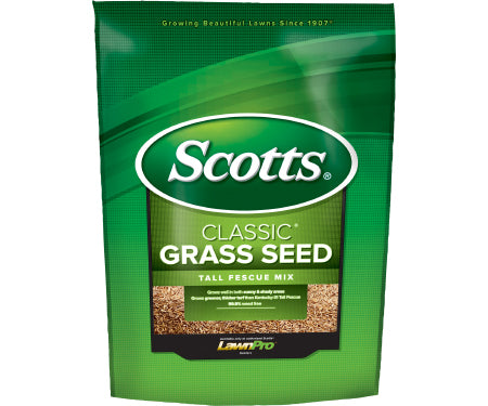 Scotts Classic Tall Fescue Grass Seed (3 lb. / 1,300 sq. ft.)