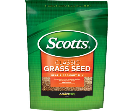 Scotts Classic Heat & Drought Grass Seed (3 lb. / 1,500 sq. ft.)