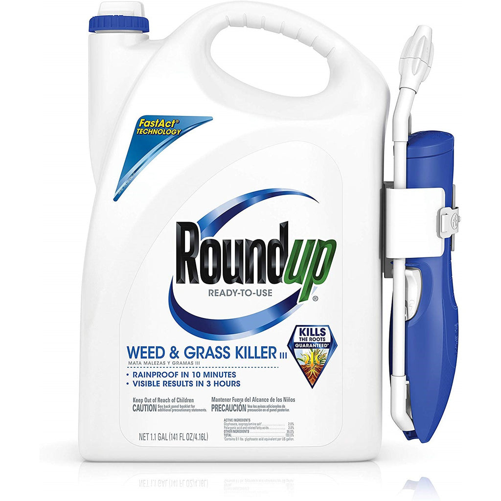 Roundup Weed & Grass Killer 1.1 gal w/wand