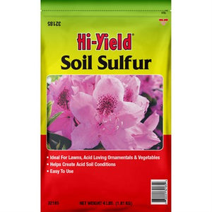 VPG™ Hi-Yield® Soil Sulfur 4lb