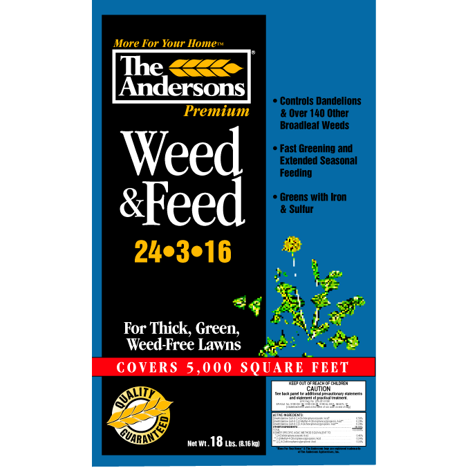 The Andersons Weed and Feed