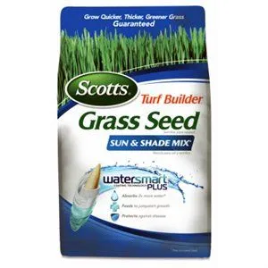 Turf Builder Sun & Shade Seed, 3Lbs Covers 1200 Sq. Ft.