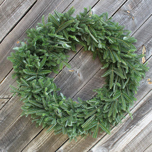 "20"" Deluxe Fraser Fir Wreath Undecorated"
