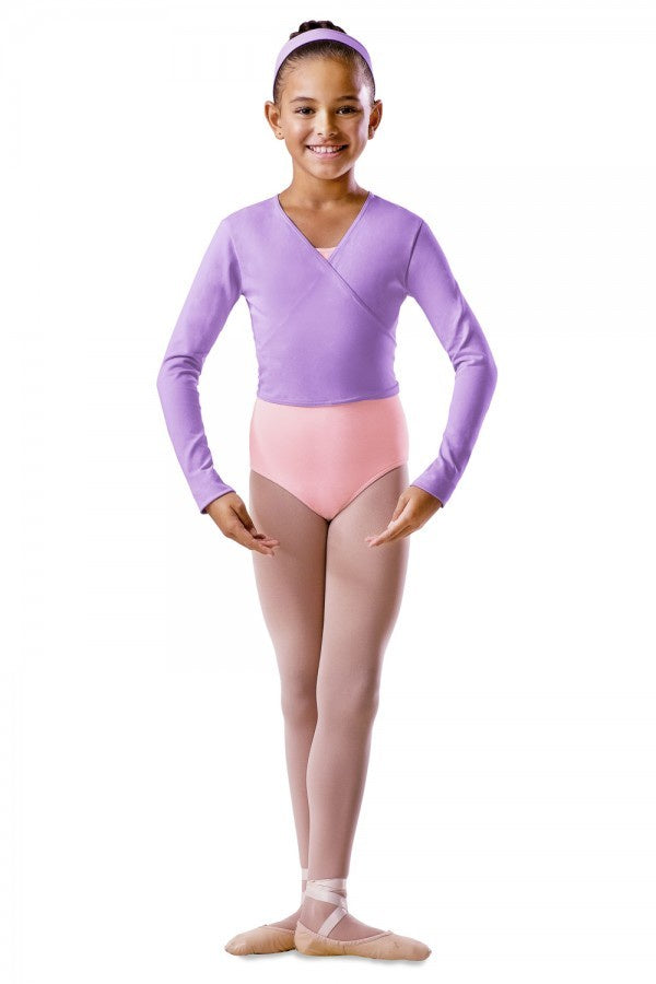 Bloch Long Sleeve Wrap Top BU501C